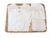 Round and Round Unisex Gift Baby Basket